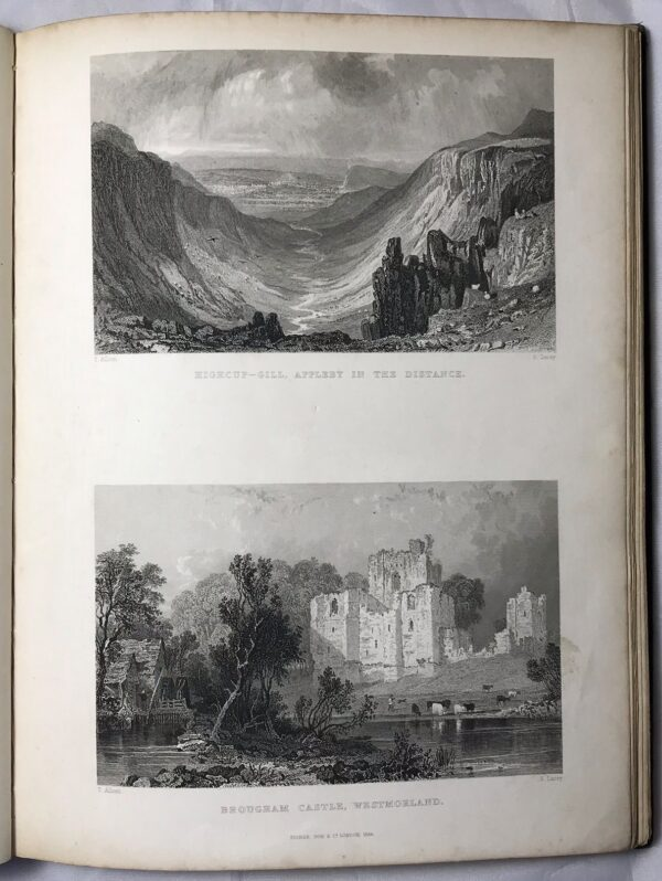 Gage D'Amitie: The Northern Tourist. seventy-three views of Lake and Mountain Scenery, etc. in Westmorland, Cumberland, Durham & Northumberland by Thomas Rose and Thomas Allom