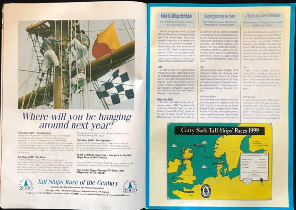 The Cutty Sark Tall Ships Races 1999, Official Programme