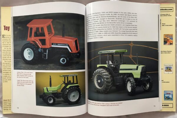 Ertl Toy Tractors by Patrick Ertel and Catherine Lee Phillips