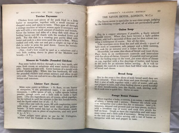 Recipes of the 1940's, by Irene Veal